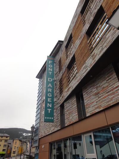 Foto del exterior de Hotel Font D'Argent Canillo