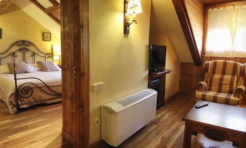 Foto de una habitación de Hotel Ciria