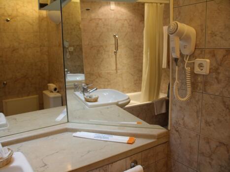 Badezimmer - Aparthotel Paraiso de Albufeira