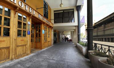 Foto del exterior de Hotel Hispania