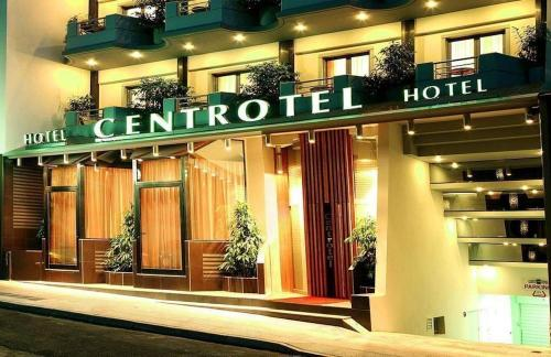 Foto degli esterni Centrotel Hotel