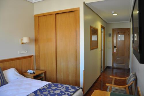 Außenansicht - Hotel Crunia