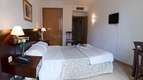 Foto de una habitación de Hotel Praderón