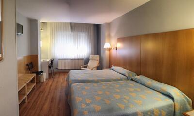 Foto de una habitación de Hotel Residencia Isasa