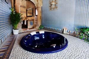 """Foto del baño de """"Posada Los Cantaros"""""""