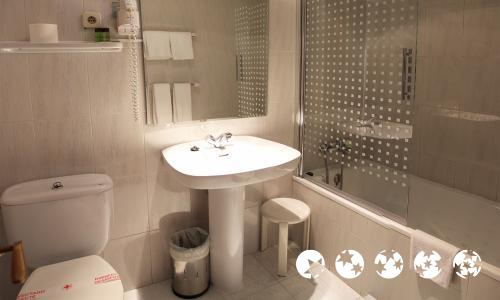 Salle de bains - Hotel Aragüells