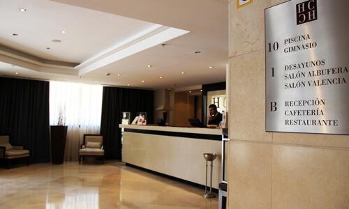 Áreas comuns - Hotel Valencia Center