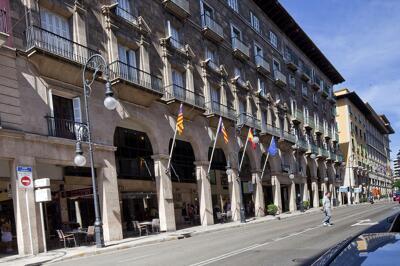 Foto degli esterni Hotel Almudaina