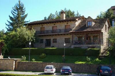 Foto del exterior de Hosteleria Santa Cruz