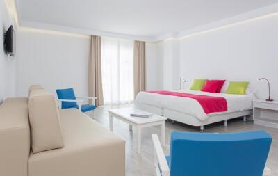 Foto de una habitación de Hotel Guya Wave