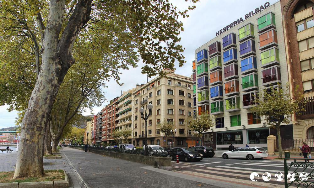 Hotel nh collection r a de bilbao bilbao for Hotel jardines de bilbao