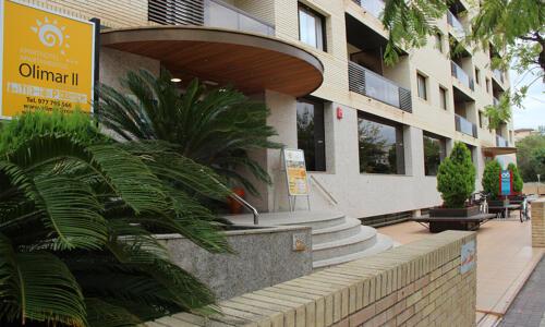 Foto degli esterni Aparthotel Olimar II