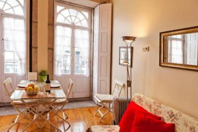 Foto di una camera da Apartamentos Porto Downtown Studios
