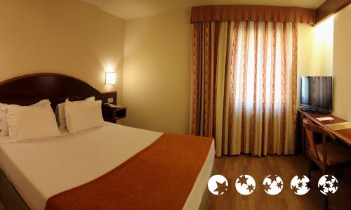 Foto de una habitación de Hotel Metrópolis