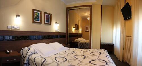 Foto de una habitación de Hotel Castilla