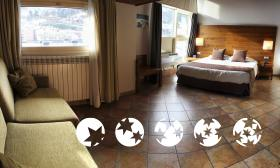 "Foto de una habitación de ""Hotel Magic la Massana"""