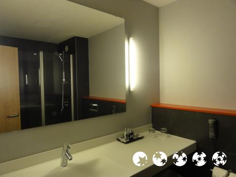 Salle de bains - Hotel Sporting