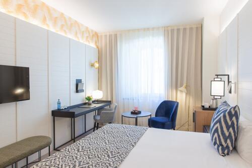 Foto di una camera da Hotel Molina Lario