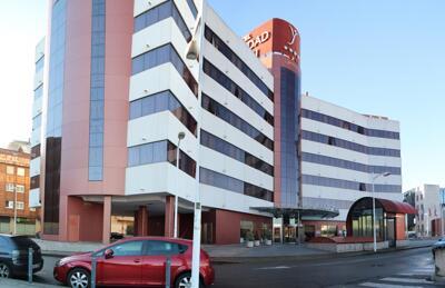 Extérieur de l'hôtel - Silken Ciudad Gijón