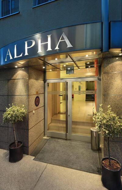 Foto degli esterni Hotel Alpha