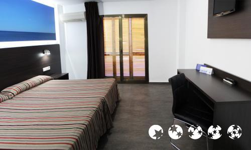 Foto de una habitación de Hotel Prado II