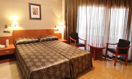 Foto di una camera da Hotel Peñiscola Palace