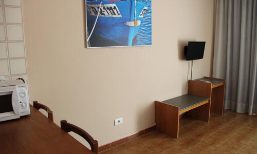 Foto de una habitación de Apartamentos Aragó