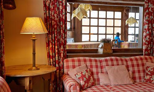 Öffentliche Bereiche - Hotel Chalet Bassibe