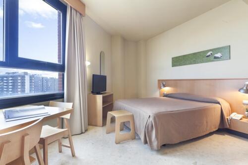 Foto de una habitación de Aparthotel Exe Campus San Mames