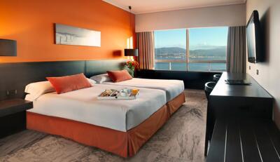 Foto de una habitación de Sercotel Hotel Bahía de Vigo