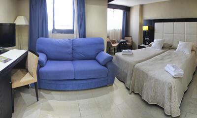 Foto de una habitación de Hotel Marina D'Or Playa 4*