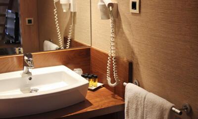 Salle de bains - Hotel Casa Cornel