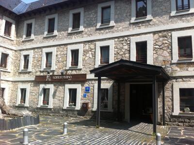 Extérieur de l'hôtel - Hotel Santa Cristina Petit Spa