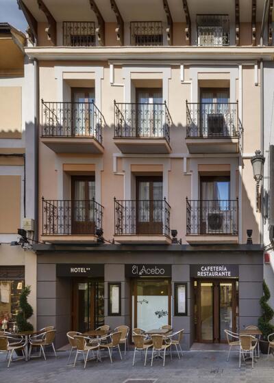 Foto del exterior de Hotel El Acebo