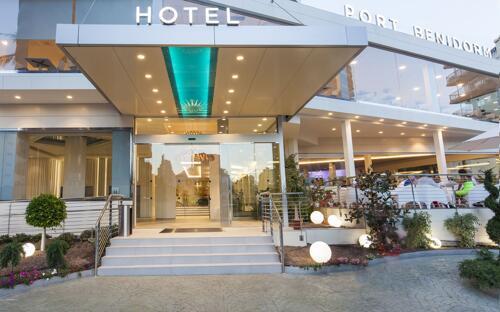 Foto del exterior de Port Benidorm Hotel & Spa