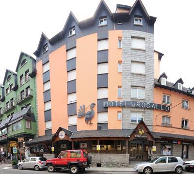 Foto del exterior de Hotel Urogallo