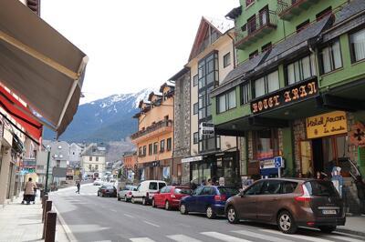 Foto del exterior de Hotel Aran la Abuela