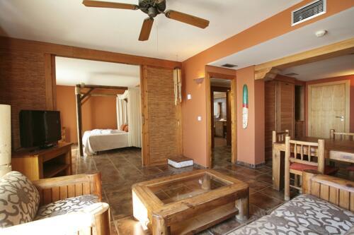 Foto di una camera da Peñiscola Plaza Suites