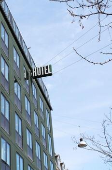 Foto degli esterni Hotel Danmark