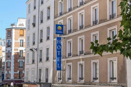 Foto del exterior de Hotel Montmartre Apolonia (ex Comfort Lamarck)