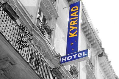 Foto do exterior - Hotel Kyriad Paris 13 - Italie Gobelins
