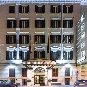 Außenansicht - Hotel Archimede
