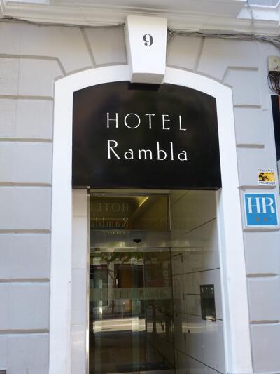Foto del exterior de Hotel Rambla Alicante