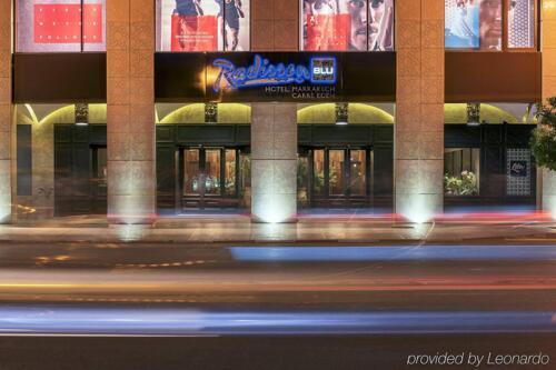 Foto del exterior de Radisson Blu Marrakech, Carré Eden