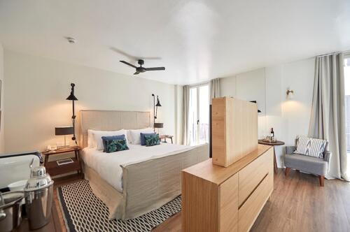 Foto de una habitación de M House Hotel