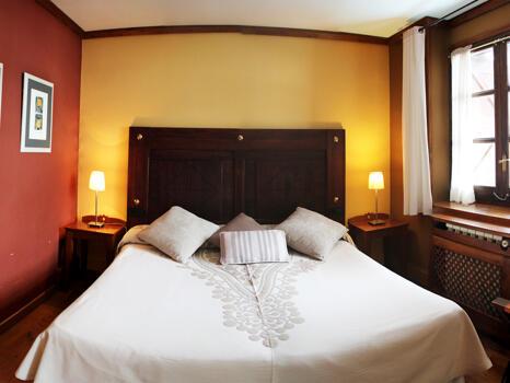 Foto de una habitación de Hotel Hospital de Benasque