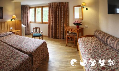 Foto de una habitación de Hotel Nievesol