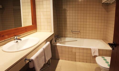 Foto del bagno Hotel Saliecho