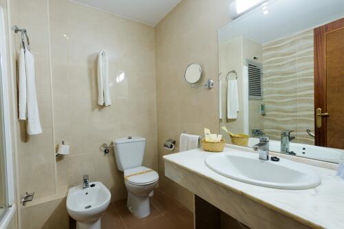 Foto del bagno Hotel Monarque Fuengirola Park