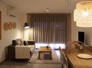 """Foto de una habitación de """"Alegria Chic Apartments"""""""